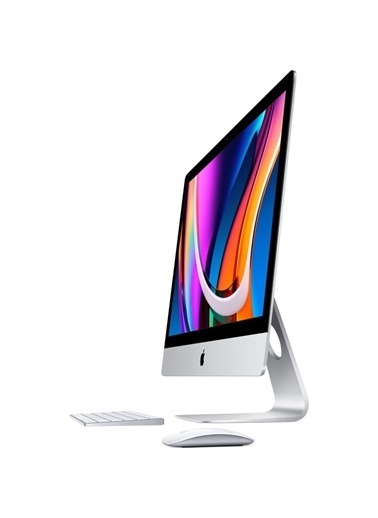 """Apple iMac 2020 MXWU2TUF1 3.3 Ghz 6C 10Gn i5 4.8 TBoost 16GB 4GB R-Pro5300 1TB SSD 27"""" Retina 5K Renkli"""